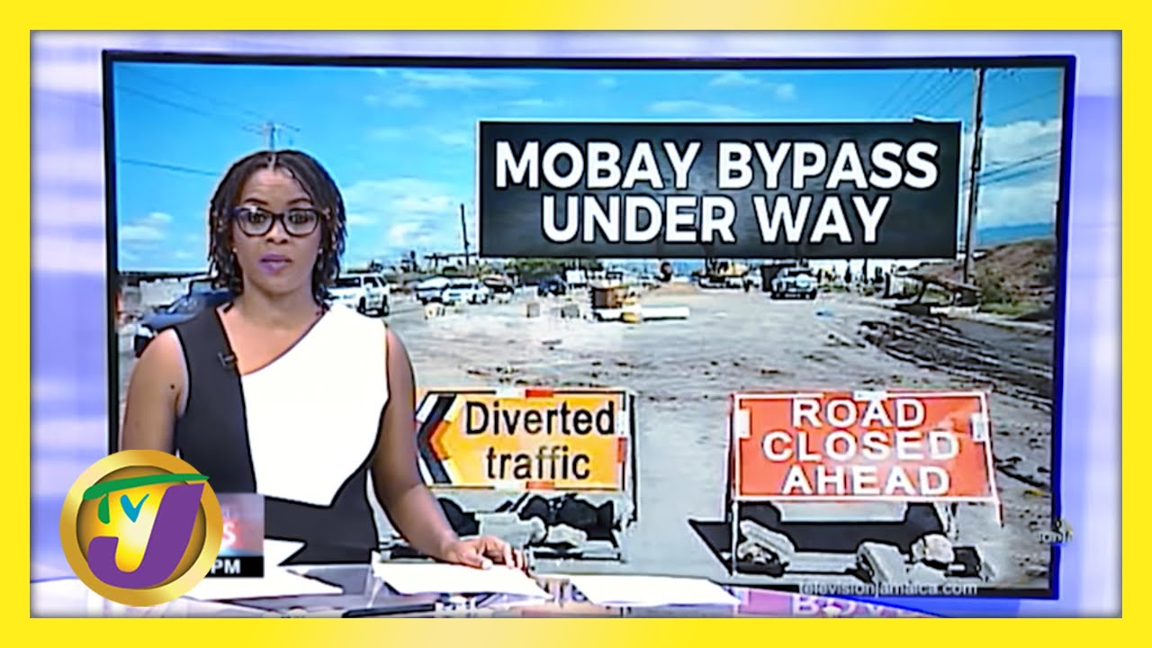Help for Motorists in Montego Bay Jamaica   TVJ News - March 18 2021 4