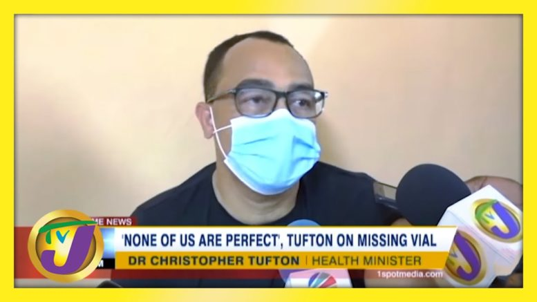 'None of us are Perfect' - Tufton on Missing Vaccine | TVJ News - March 19 2021 1
