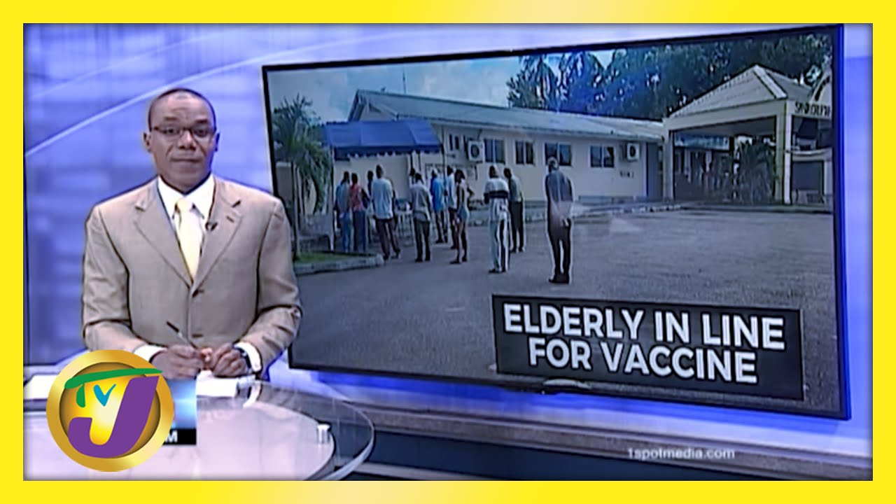Vaccination Starts for People 75 yrs & Over in Jamaica | TVJ News - March 22 2021 1