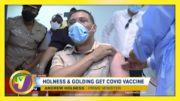Jamaica's PM & Opposition Leader Gets Vaccinated | TVJ News - March 22 2021 5