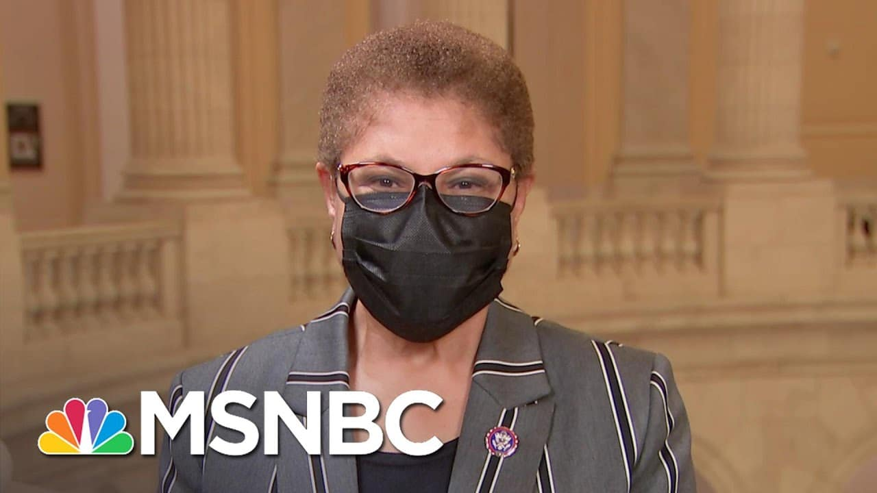 Rep. Karen Bass: $10 And $12 Are Not Livable Wages, We Need To Have A $15 Minimum Wage | The ReidOut 3