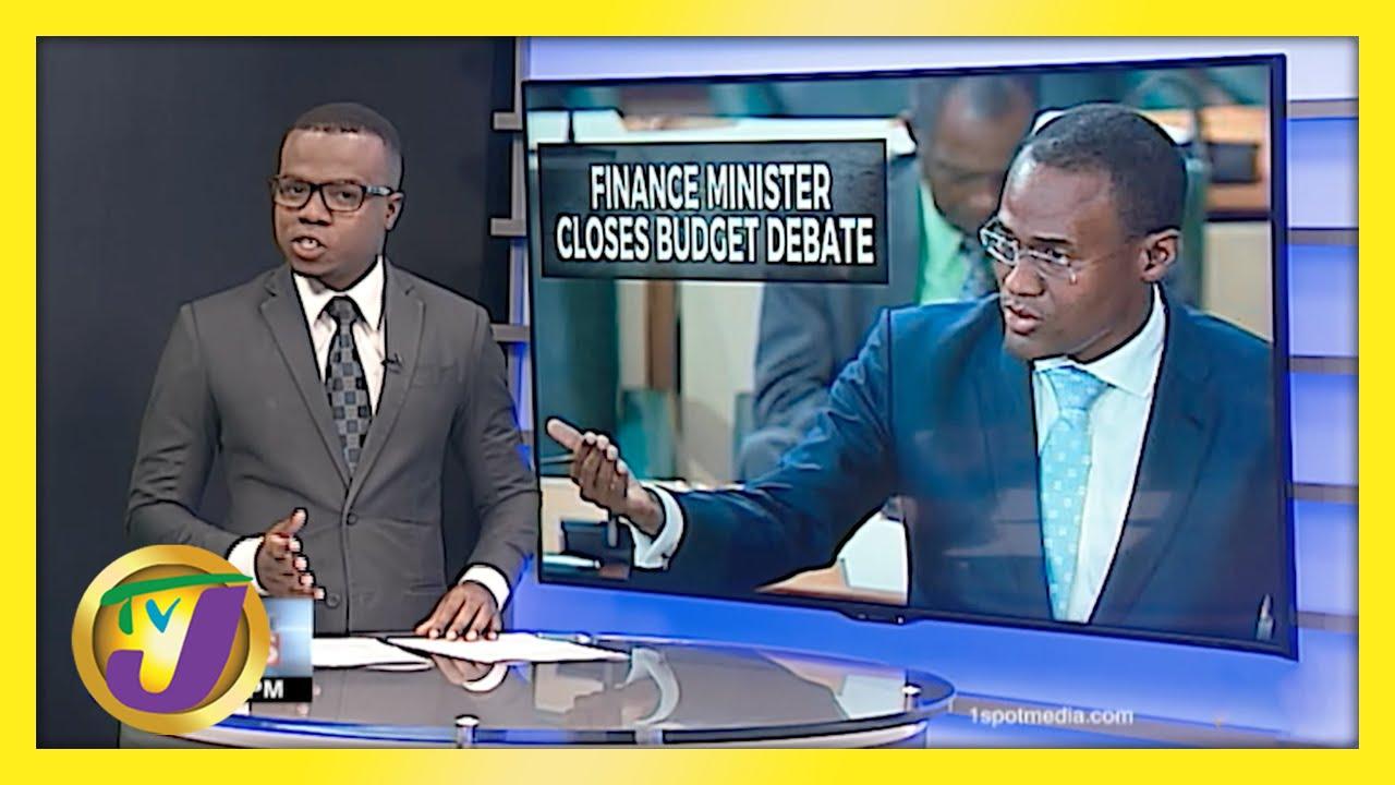 Finance Minister Slams Opposition - Jamaica's Budget Debate | TVJ News - March 23 2021 1