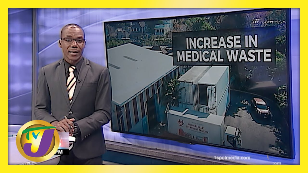 Jamaica's Medical Waste Pile up | TVJ News - March 23 2021 1