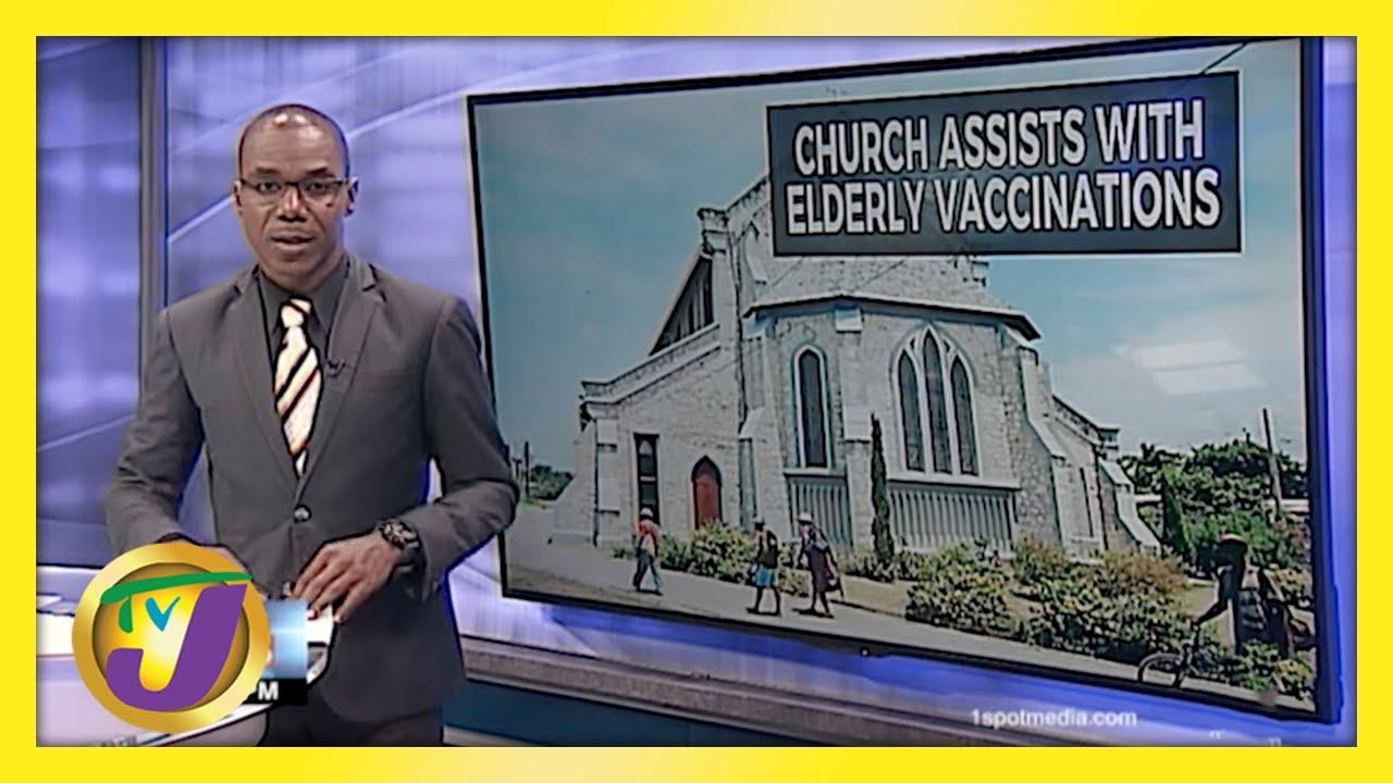 Jamaica's Day 2: Vaccinating Senior Citizens | TVJ News - March 23 2021 1