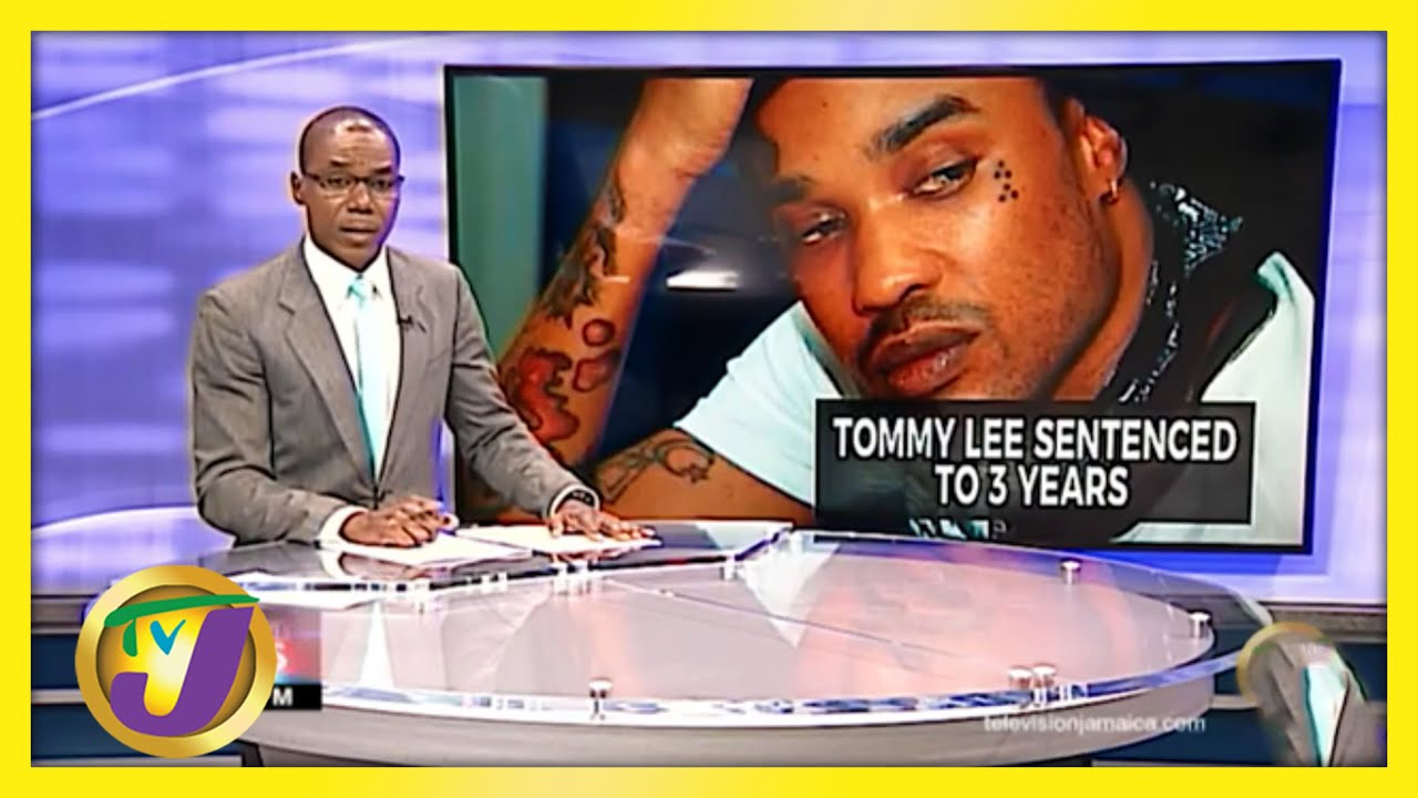 Jamaican Dancehall Artiste Tommy Lee Sentenced to 3 Years | TVJ News - March 24 2021 1