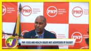 PNP: Food & Health Issues not Addressed by Budget | TVJ News - March 24 2021 4