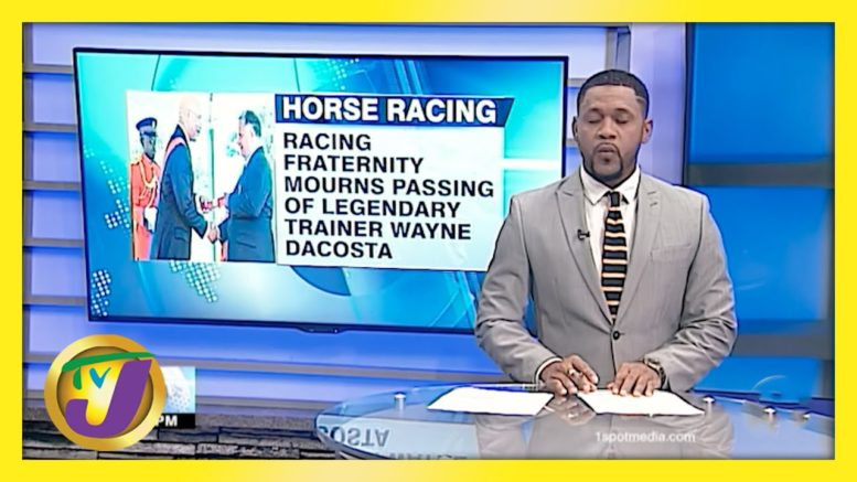 18-Time Champion Trainer Wayne DaCosta Passes - March 24 2021 1
