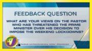 Feedback Question | TVJ News - March 25 2021 5