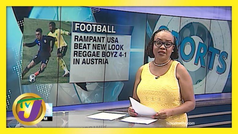 USA Beat New Look Reggae Boyz 4-1 in Austria - March 25 2021 1