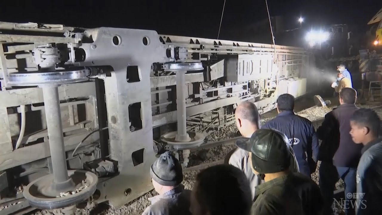 At least 32 dead, 165 injured in Egypt train collision 1