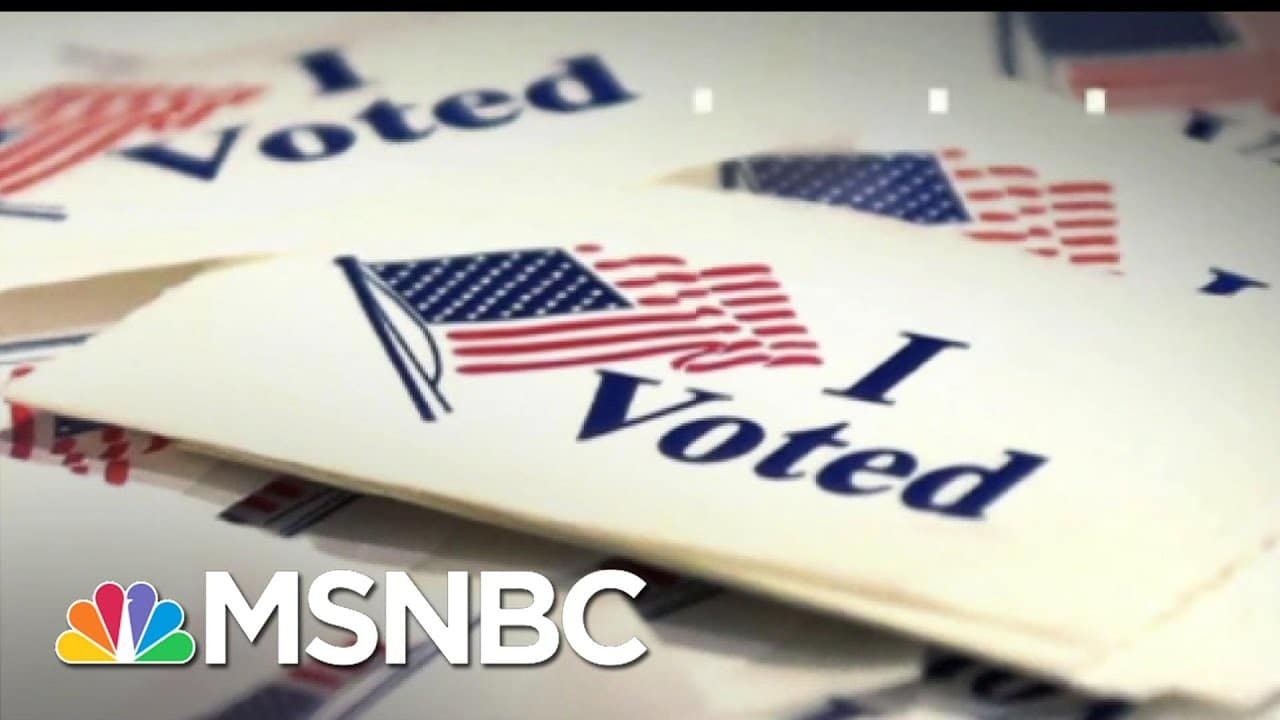 Five Reasons Why Georgia Republicans Are Restricting Voting | The 11th Hour | MSNBC 1