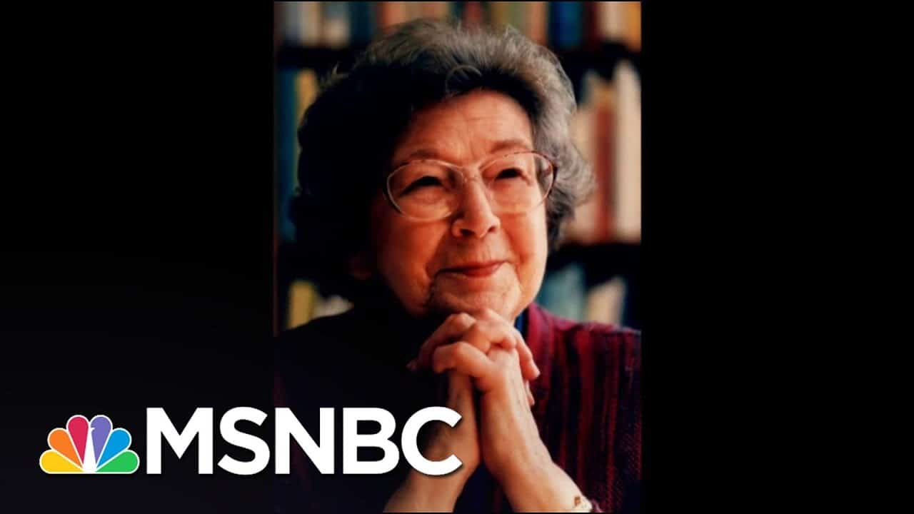 Celebrated Children's Author Beverly Cleary Dies At 104   The 11th Hour   MSNBC 1