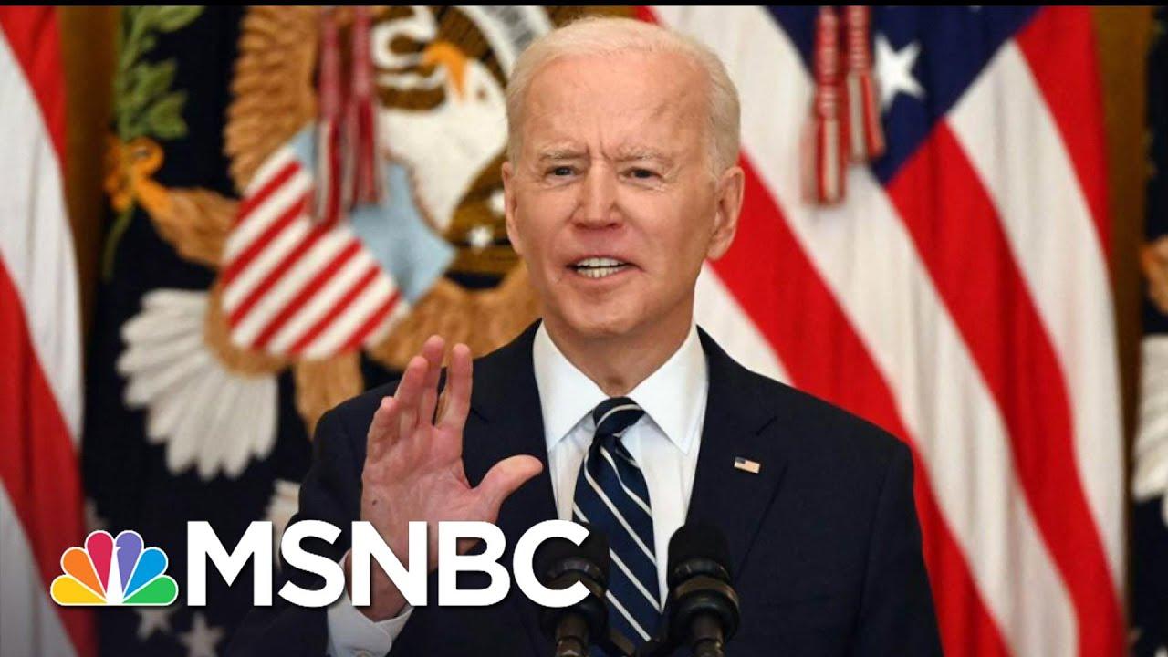 An 'Atrocity': Biden Blasts GOP Efforts To Block The Vote | The 11th Hour | MSNBC 1