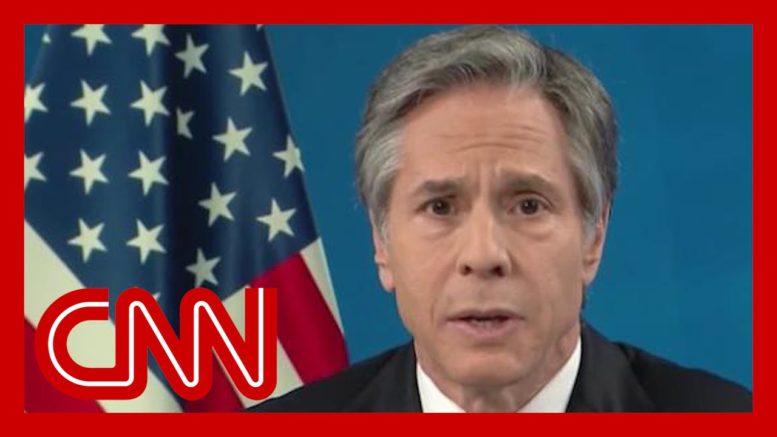 Dana Bash pushes Secy. of State Blinken on repercussions for China's management of Covid-19 1