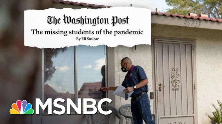 The Search For Missing Students: How A California Educator Is Solving The Attendance Crisis | MSNBC 1