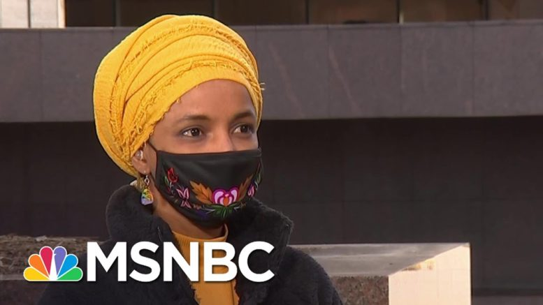 """Rep. Ilhan Omar On Meeting With Children Held At Migrant Facilities: """"I Was One Of Those Kids"""" 1"""