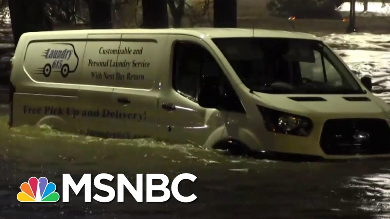 Torrential Rains In Nashville Leave Four Dead, Prompts Evacuations In Tennessee | MSNBC 1