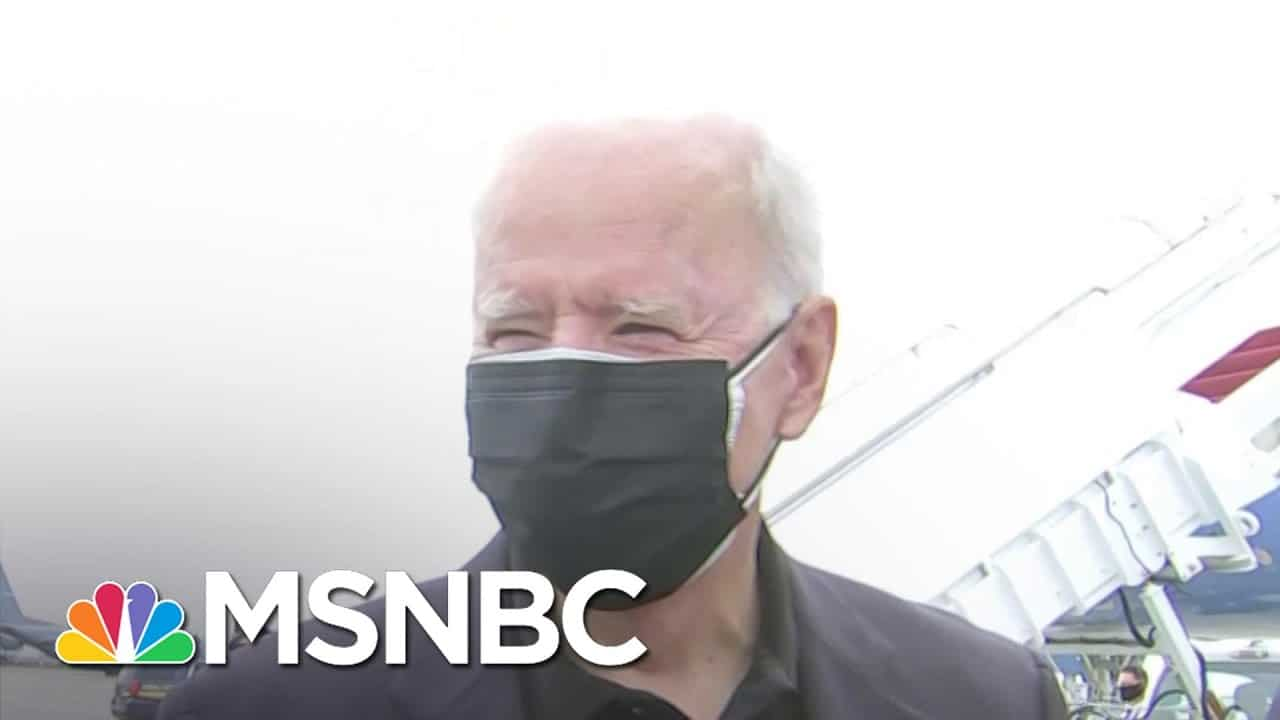 Biden On Massacre in Myanmar: 'It's Terrible. It's Absolutely Outrageous' | MSNBC 1