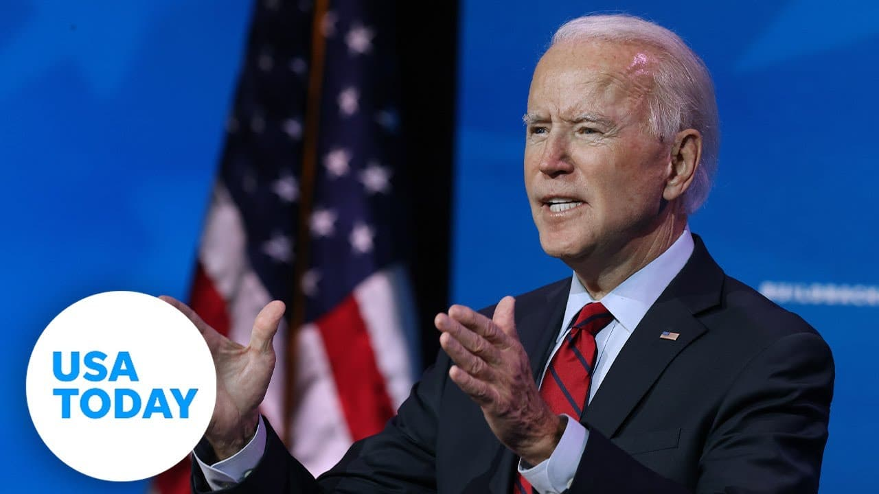 US President Joe Biden makes remarks on the COVID-19 pandemic. USA TODAY 1