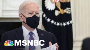 Majority Approves Of Biden's Coronavirus Vaccine Response | Morning Joe | MSNBC 6