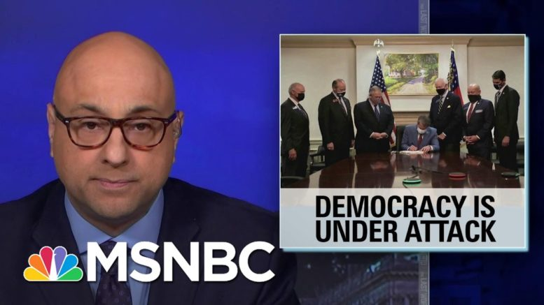 Ali Velshi: 'Democracy Is Under Attack' | The Last Word | MSNBC 1