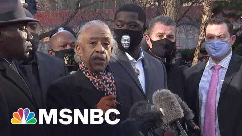 Rev. Sharpton Speaks Ahead Of Derek Chauvin's Trial | MSNBC 1