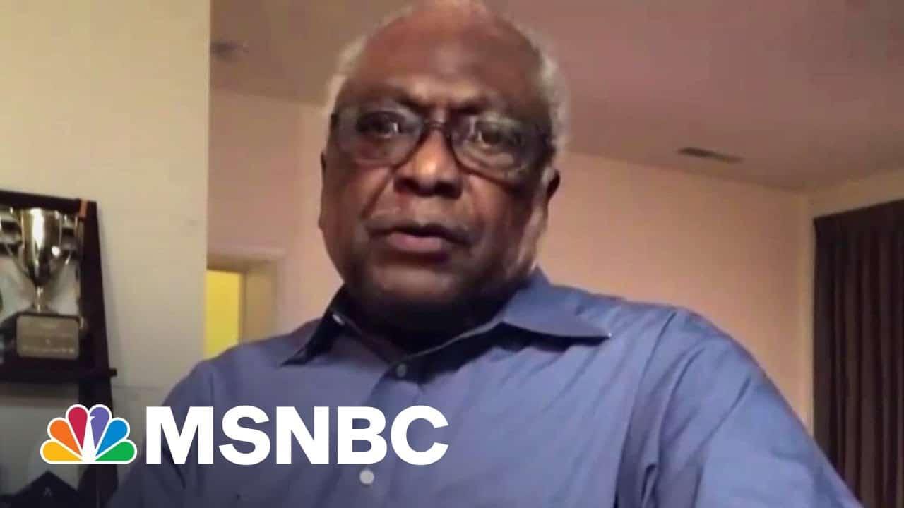 House Majority Whip Jim Clyburn On Senate Prospects For Voting Rights Legislation   MSNBC 6