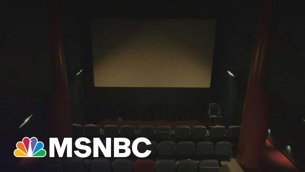 Movie Theaters Reflect On A Lost 2020 As Some Begin Reopening | Morning Joe | MSNBC 1