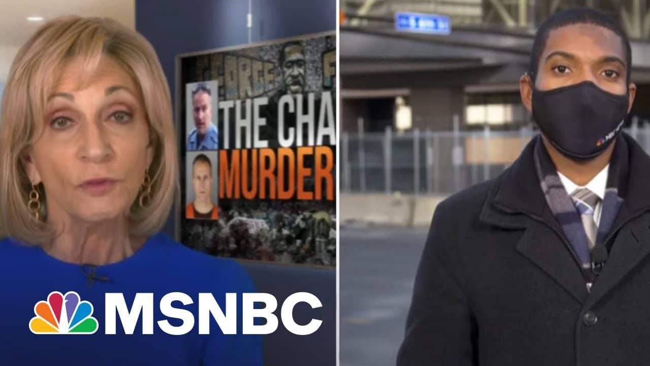 Derek Chauvin's Trial Begins With Focus On Video Of George Floyd's Death   MSNBC 1