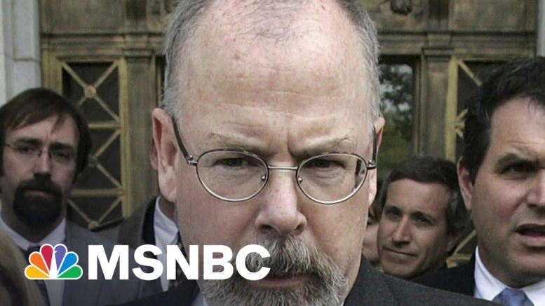 Will There Be A Report On The Origins Of The Russia Probe? | Morning Joe | MSNBC 1