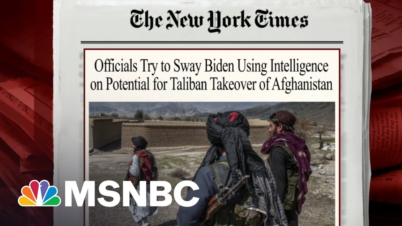Officials Use Intelligence To Argue For Prolonging Military Mission In Afghanistan | Morning Joe 1