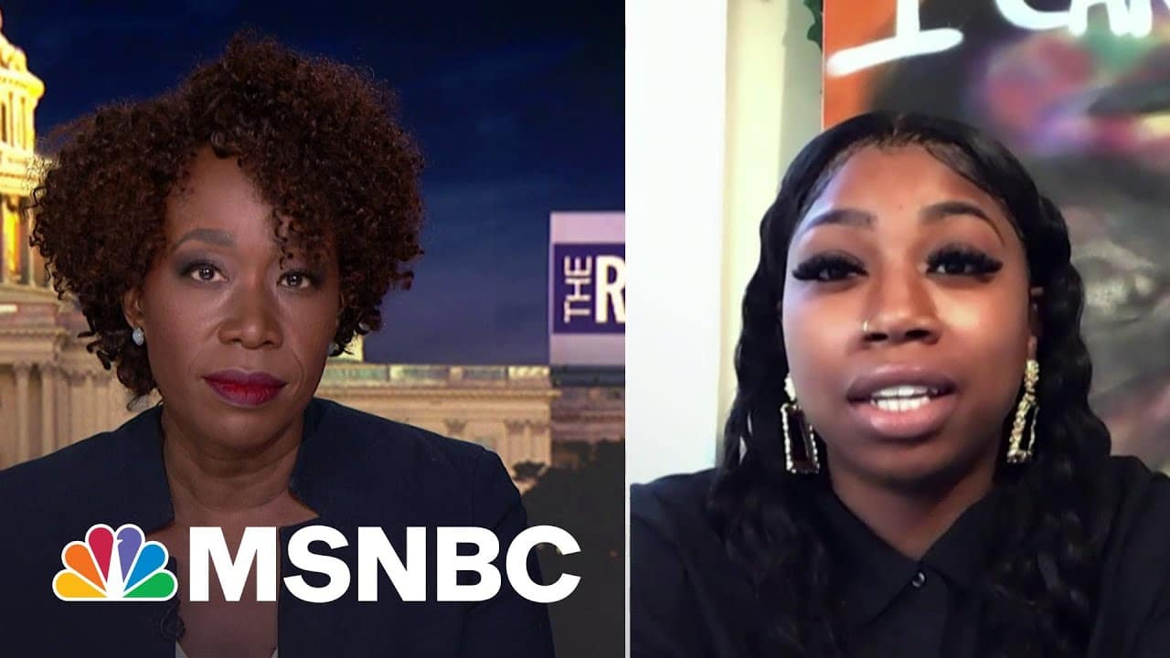 Bridgett Floyd On Chauvin Trial: This Was Intentional And We Will Get Justice   The ReidOut   MSNBC 1