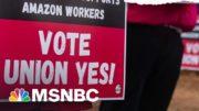 'Economic Selma': Amazon Workers In Bessemer Vote On Unionization | The ReidOut | MSNBC 3