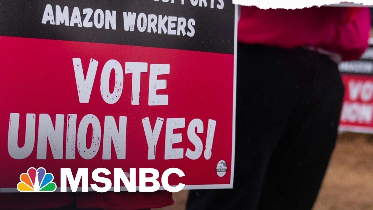 'Economic Selma': Amazon Workers In Bessemer Vote On Unionization | The ReidOut | MSNBC 1