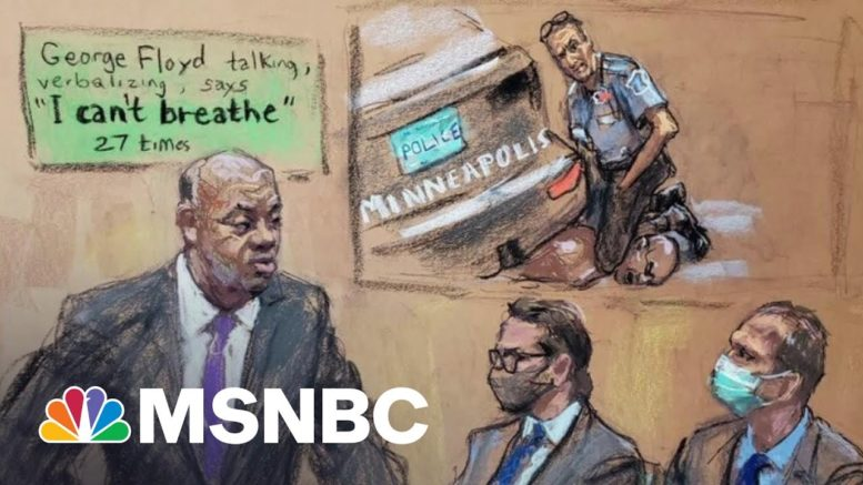 Floyd Family Lawyer On 'Bombshell' Testimony From 911 Dispatcher In Chauvin Trial | All In | MSNBC 1