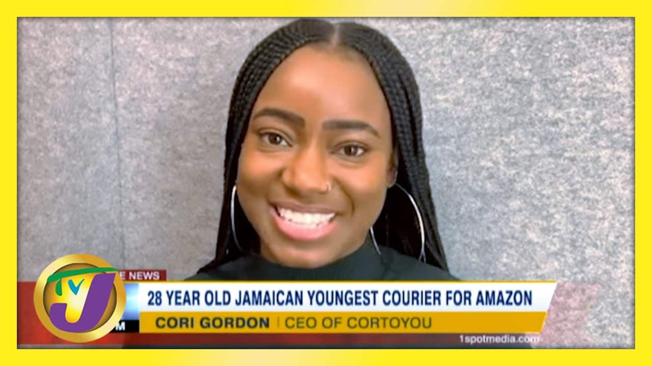 28 yr old Jamaican Youngest Courier for Amazon - March 1 2021 1