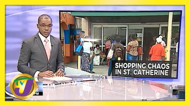Chaos & Frustration Before Weekend Lockdown in Jamaica | TVJ News - March 26 2021 1