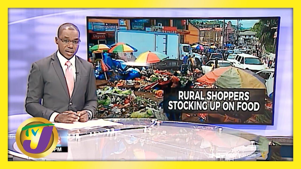 Lockdown Preparation in Rural Jamaica   TVJ News - March 26 2021 1