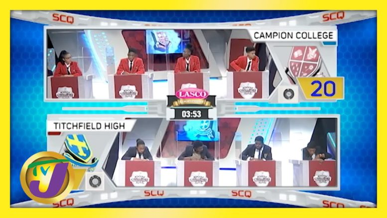 Campion College vs Titchfield High: TVJ SCQ 2021 - March 26 2021 1