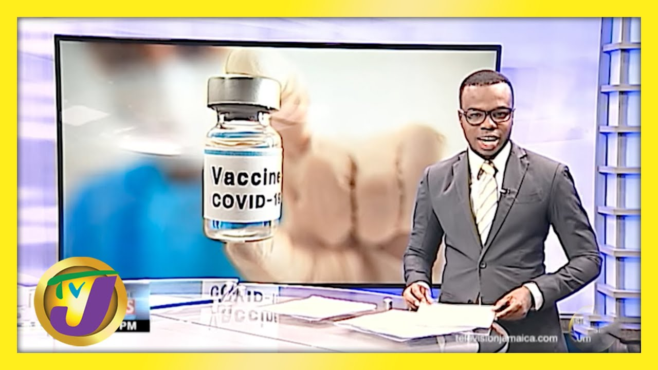 Mass Vaccination Blitz at the National Arena in Jamaica   TVJ News - March 27 2021 1