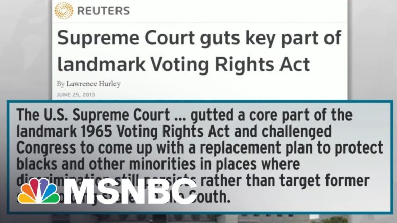 Broad, Bipartisan Appeal Of Dems' Voting Rights Ideas Alarms Far-Right Billionaires   Rachel Maddow 1