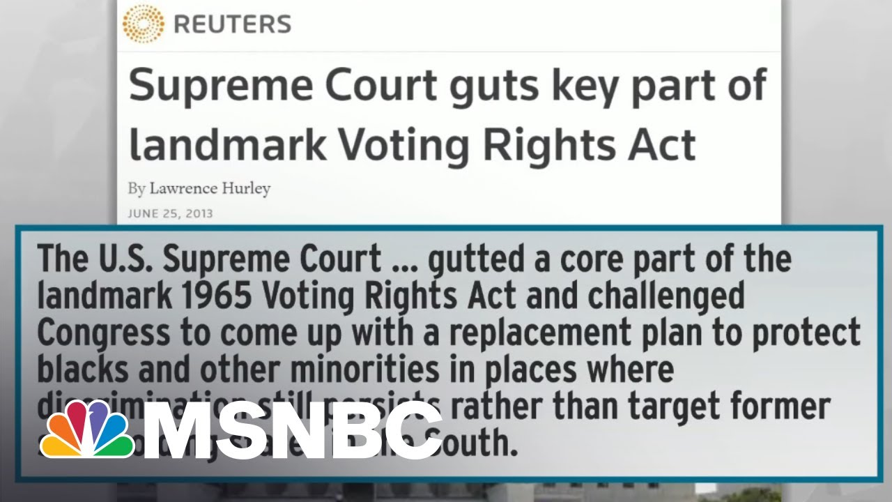 Broad, Bipartisan Appeal Of Dems' Voting Rights Ideas Alarms Far-Right Billionaires | Rachel Maddow 1