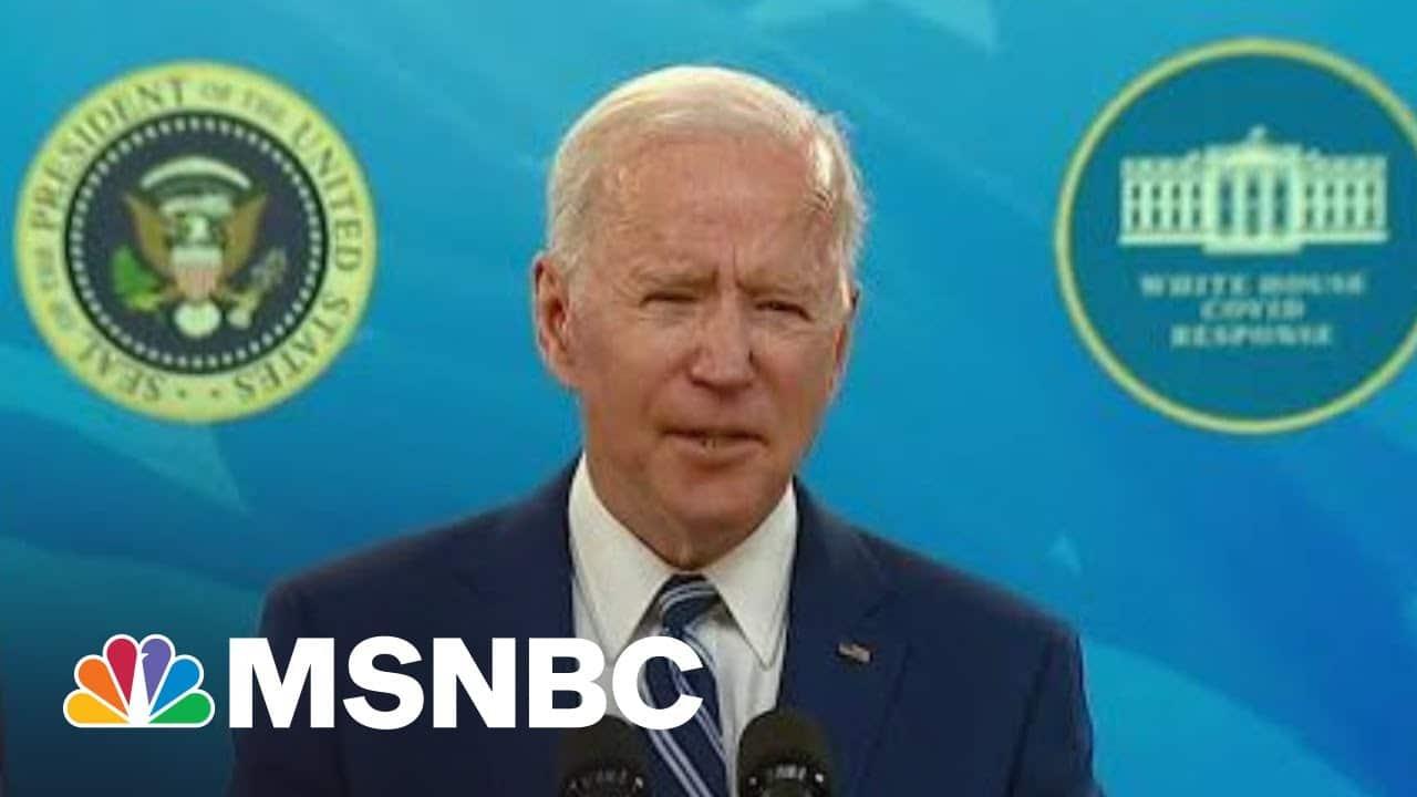 Biden Echoes Concern From CDC Director On Coronavirus | Morning Joe | MSNBC 1