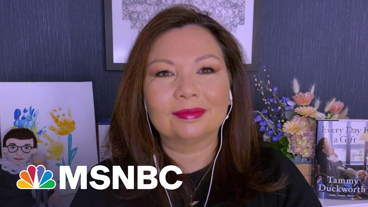 Sen. Duckworth: You Shouldn't Be Filibustering Voting Rights For All Americans | Morning Joe | MSNBC 1
