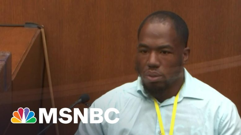 'Tension' Between Chauvin Trial Witness And Defense Attorney   MTP Daily   MSNBC 1