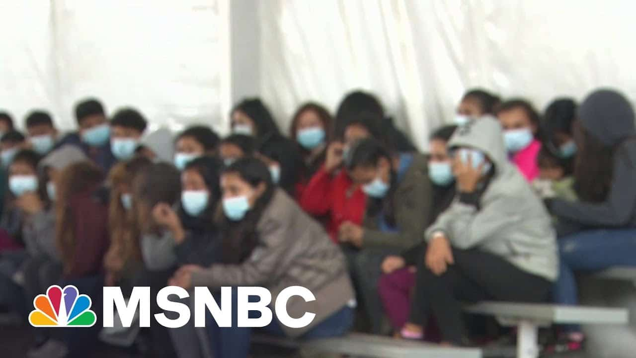 Government Allows Cameras Inside Donna, Texas CBP Facility For First Time   MTP Daily   MSNBC 1