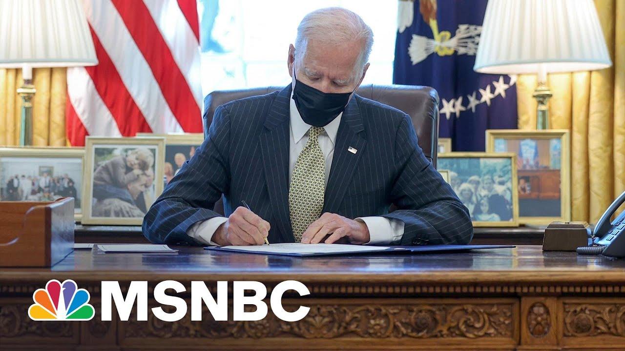 Biden Signs PPP Extension Act: 'A Bipartisan Accomplishment'   MSNBC 1