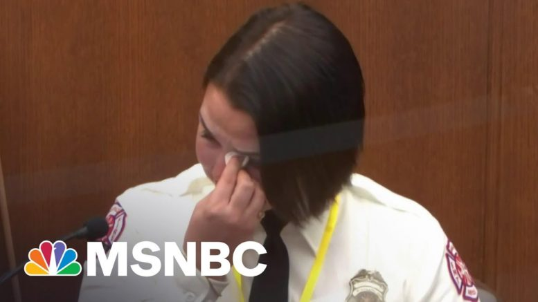 Witness, Off-Duty Firefighter Says She Would Have Given Floyd Medical Attention | MSNBC 1