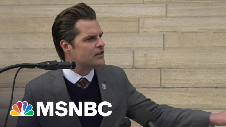 Trump Loyalist Gaetz Under Investigation For Alleged Sexual Misconduct | The Beat With Ari Melber 1