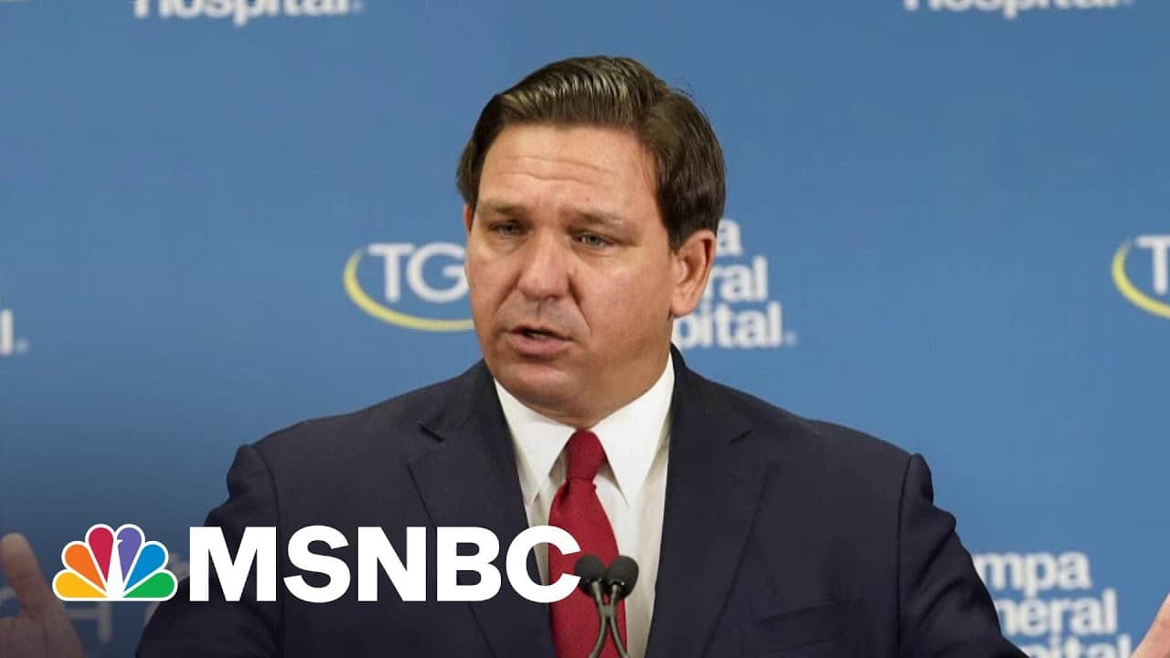 'Trump's Mini-Me': Mehdi On Florida Governor's Pro-Covid, Anti-Democracy Efforts   All In   MSNBC 1